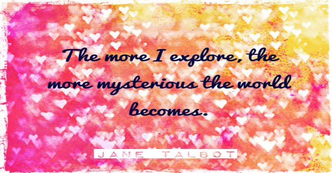 Be in the mystery!