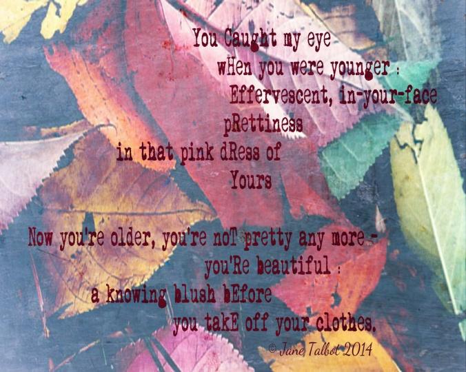 Cherry Tree acrostic poem by Jane Talbot