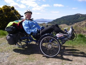 Jane Talbot trike adventure